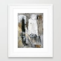 evolution Framed Art Prints featuring evolution by woman