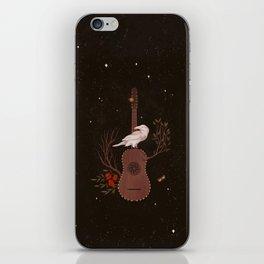 The White Raven iPhone Skin