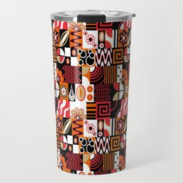 Retro Potpourri Travel Mug