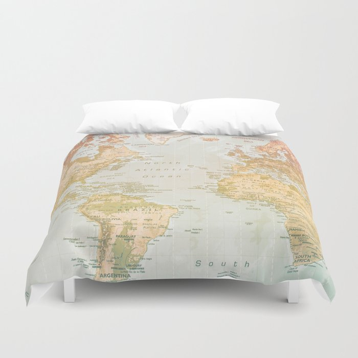 Pastel World Duvet Cover By Sandybro Society6