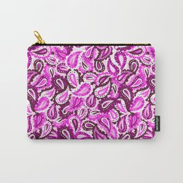 Pink paisley Carry-All Pouch