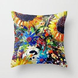 Sunshine and Splendour Throw Pillow