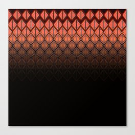 Future Scales Red Canvas Print