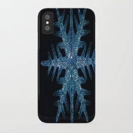 Christmas Time in the City iPhone Case