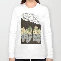 hawaiian Long Sleeve T-shirts featuring first hawaiian by thefleafarm (Amy Wright)
