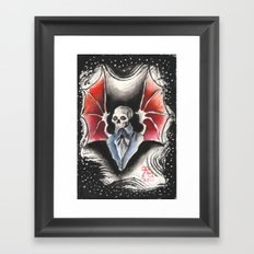 The Gentleman Demon Framed Art Print