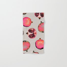 Pomegranate Pattern Hand & Bath Towel