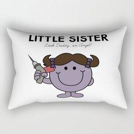 Little Sister Rectangular Pillow