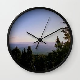 Cascade Mountain View Wall Clock