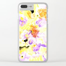 Spring Forward Clear iPhone Case