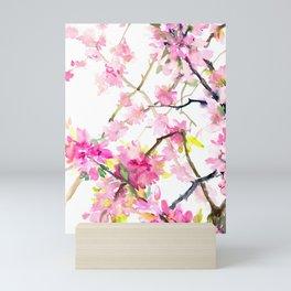 Cherry Blossom, Sakura, Japanese Floral art Mini Art Print