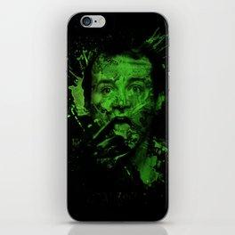 Splatter Venkman iPhone Skin