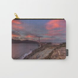 Golden Gate Bridge at Sunset Carry-All Pouch