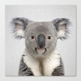 Koala 2 - Colorful Canvas Print