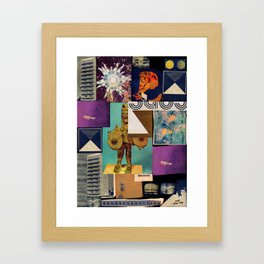Interface 5 Framed Art Print