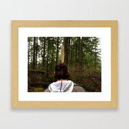 Finding g Framed Art Print