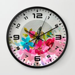 Flowers bouquet #39 Wall Clock