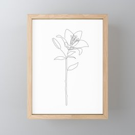 Fill Lily Framed Mini Art Print