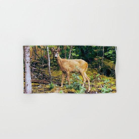 The Wandering Deer Hand & Bath Towel