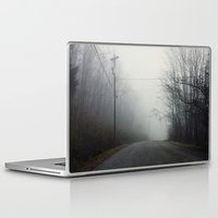nashville Laptop & iPad Skins featuring Nashville Fog by Jason Delkou