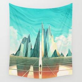 Emerald Fields Wall Tapestry