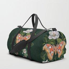Atlas Moth Magnolia Duffle Bag