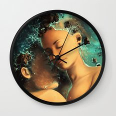 Be castaway into your arms Wall Clock