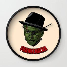 Frankenatra Wall Clock