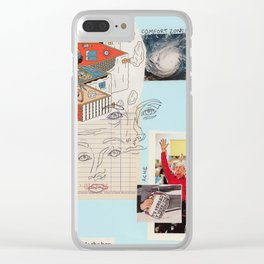 out of the box Clear iPhone Case