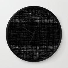 platno (black stripe) Wall Clock
