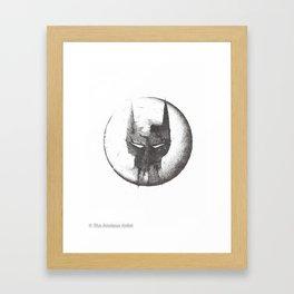 Because I'm Bat-man Framed Art Print