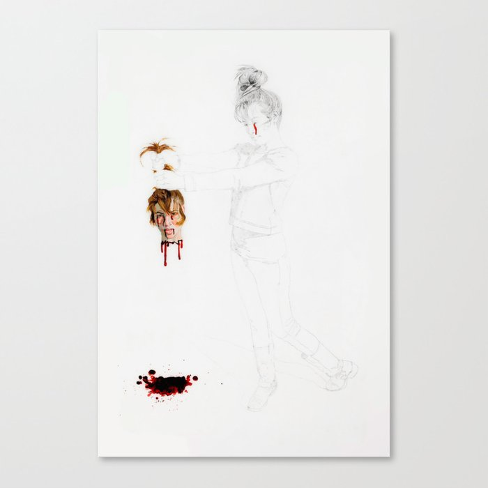 Now You Can't Hurt Me Anymore Canvas Print