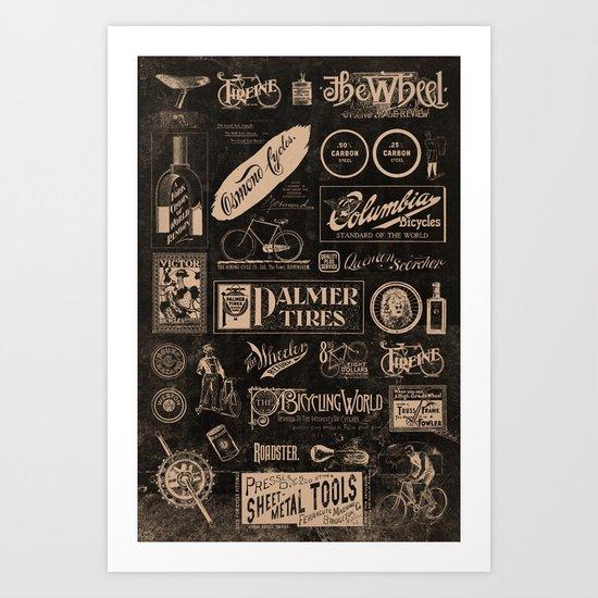 Re. Cycling Art Print