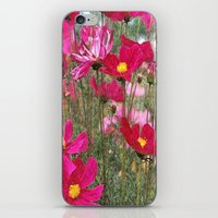 cosmos iPhone & iPod Skins featuring Cosmos by Cherie DeBevoise