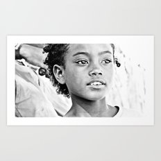 La beauté de Madagascar. Africa. Art Print