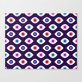Lucky Eyes Canvas Print