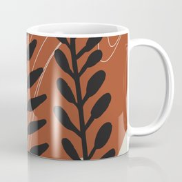Fern abstract Coffee Mug