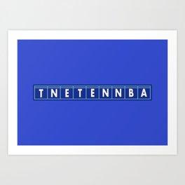 TNETENNBA - The IT Crowd Art Print