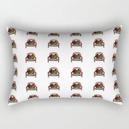 Psychedelic Transportation Rectangular Pillow