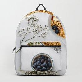 healthy breakfast Backpack