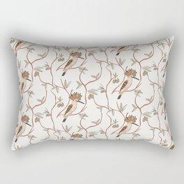 Hoopoe light bird pattern Rectangular Pillow