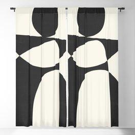 Minimal Abstract Art 39 Blackout Curtain