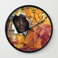 rio Wall Clocks featuring Rio by Bruce Stanfield