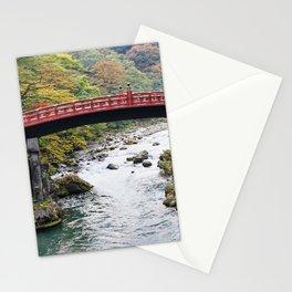 Red Bridge, Nikko, Japan. Stationery Cards