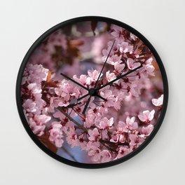 Pink & Pretty Wall Clock