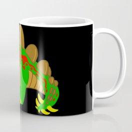 Stegosaurus Dinosaur on a stroll! Coffee Mug