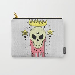 Crowned Skull Carry-All Pouch