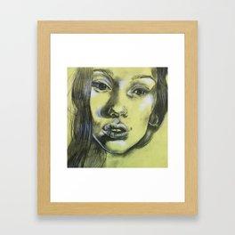 Nicole II Framed Art Print