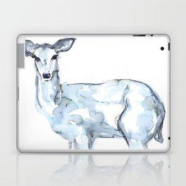 Deer Watercolor Sketch Laptop & iPad Skin