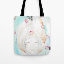 Let Your Worries Down the Drain Tote Bag